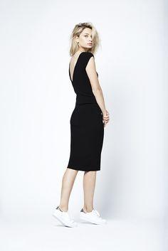 Keiko dress in black.   Fashion // clothing // woman // inspiration //