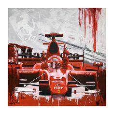 The Classic Motorsport Art of Tom Havlasek
