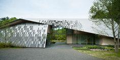 """Stone Roof"" Villa (2010) | Nagano, Japan • Kengo Kuma and Associates."