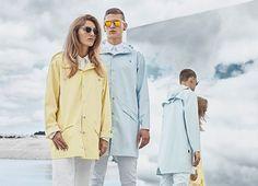 Das dänische Label Rains setzt bei der SS16 Kollektion voll auf Pastell. Regenjacken in Zitronensorbet und Hellblau machen direkt Lust auf Regenwetter!