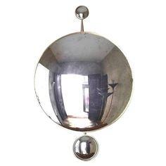 """Pearl Gloss"" Convex Mirror by Jacques Hervouet 