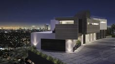 home design categories. popular architecture design of houses. Concept Architecture, Futuristic Architecture, Contemporary Architecture, Architecture Design, Futuristic Houses, Hollywood Hills Homes, Mansions Homes, Luxury Mansions, Skyline
