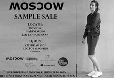 Moscow sample sale -- Wassenaar -- 19/03