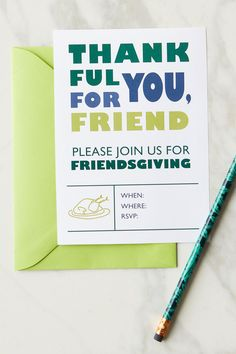 If you're hosting a celebration this year, these printable invitation cards are the perfect way to invite your guests; just print them out, fill in the details, and pop in the mail! We have invitations for any style of gathering! #friendsgiving #friendsgivinginvitations #printableinvites #bhg Invitation Cards, Invite, Invitations, Friend Please, Rsvp, Fill, Celebration, Thanksgiving, Printable
