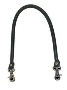 Asa para bolso de cuero redonda con mosquetón 52cm marrón: Catálogo de Planas & Linares
