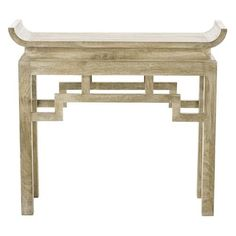 Arteriors Home Chen Solid Wood Console - Arteriors Home 6326 Table Furniture, Home Furniture, Asian Furniture, Chinese Furniture, Painted Furniture, Furniture Design, Wooden Console Table, Console Tables, Bedside Tables