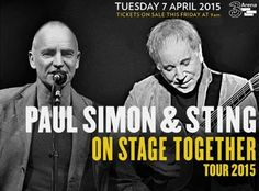 Sting and Paul Simon in Concert