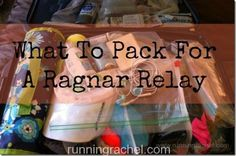 what to pack for a ragnar relay