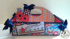 Amazing Mother Goose organization caddy from Clare! Beautiful! #graphic45 #organize