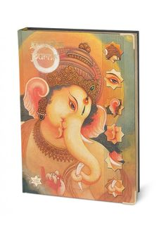 Ganesha Journal with stories and notes on lord ganesha with space for noting your spiritual ideas, now an amazing vedic cosmos collection at Nightingale