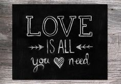 Hey, I found this really awesome Etsy listing at https://www.etsy.com/listing/178169305/love-is-all-you-need-8x10-valentines-day