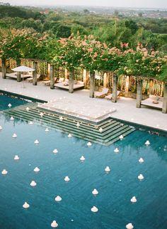 Venue: Amanusa, Nusa Dua, Bali #pool #lifestyle