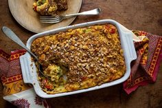 What to do with all of that summer squash? Try a classic casserole, with ingredients that are by no means fancy but are high on flavor.