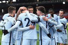 Premier League Goals, Premier League Table, Chelsea Blue, Chelsea Fc, Gary Cahill, Christian Pulisic, Big Six, West Brom, Free Kick