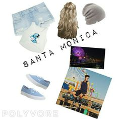 Santa Monica beach with Cameron dallas