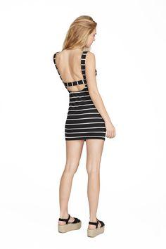 Chelsea Stripe Mika Dress. Clayton 2016 Resort Collection.