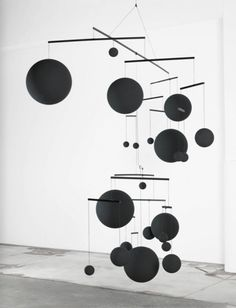 thought bubbles - Le Mobile by Xavier Veilhan. I'm a huge fan of Calder's mobiles and when I saw this piece by Veihan, I immediately took a liking to his work. This particular mobile is. Mobile Art, Hanging Mobile, Hanging Art, Mobiles, Abstract Sculpture, Sculpture Art, Sculptures, Xavier Veilhan, Mobile Sculpture