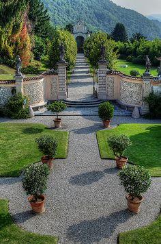 Villa della Porta Bozzolo, Casalzuigno, Varese, Lombardia