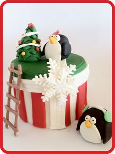 Tutorial: Božićna sa pigvinima