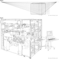 perspective drawing lesson: technical