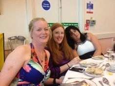 Me with our team members Emma & Elizabeth at Scentsy convention 2013 in #liverpool