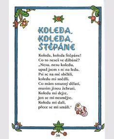 Velká kniha českých říkadel Aa School, School Clubs, Childhood Memories, Frame, Winter, Shop Signs, Picture Frame, Winter Time, Frames
