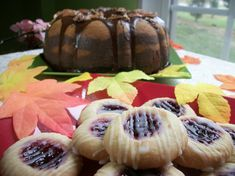 Pumpkin Marbled Chocolate Bundt Cake and Cookie by AmedeosBakery