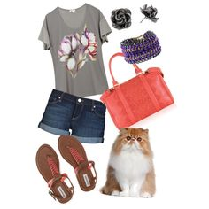 """""""Pretty kitty"""" by mommymegger on Polyvore"""