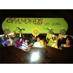 Grand kids make life grand