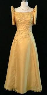 Philippines' national dress for women...