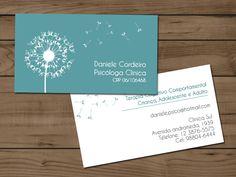Cartão de visita psicólogo. Design personalizado e material de diversos tipos de acabamentos.
