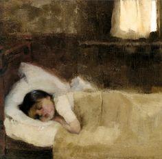 Sleeping Girl | Helene Schjerfbeck