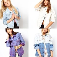 """@Angela Smythe's photo: """"Which denim jacket is your favorite? Available at: www.ootdmagazine.com"""""""