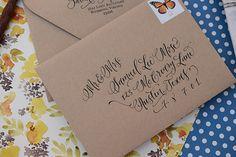 1x1.trans DIY Tutorial: Rubber Stamp Butterfly Handkerchief Wedding Invitations