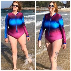 Ladies Stinger Bodysuit PDF Pattern gives you the option to sew an individual and functional garment for sun protection with instruction super easy zipper installation. Complete Outfits, Learn To Sew, Pdf Sewing Patterns, Sun Protection, Super Easy, Wetsuit, Bodysuit, Zipper, Lady