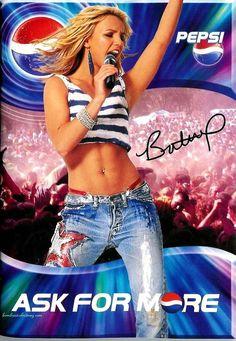 Britney Spears for PEPSI.