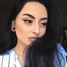 Belgian Biscotti Brows, anyone? @civrie has em! Try some of our GELatos to color your brows up. No need to dye them since ours are Long lasting and don't smudge!   #makeup #motd #eyebrows #eyebrowgoals #browgoals #labordayweekend