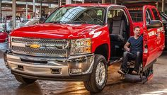 Mobility SVM Wheelchair Accessible truck