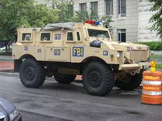 FBI Armored Truck!