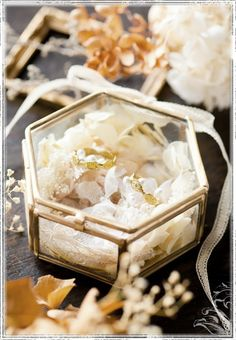 【楽天市場】m.soeur エムスール ガラスのリングピロー (六角形) (定番) 【select-shop】【RCP】:セレクトショップ コズモラマ