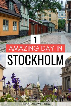 This Stockholm city break guide is perfect for first-time visitors and includes ideas for planning a weekend in Stockholm. // The Portable Wife – # stockholm Backpacking Europe, Europe Travel Guide, Travel Destinations, Europe Packing, Traveling Europe, Packing Tips, Travel Guides, Packing Outfits, Travel Plan