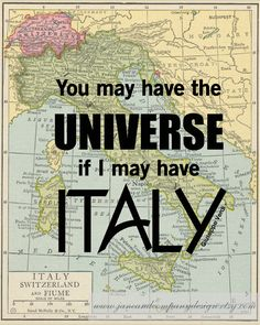 """You may have the universe if I may have Italy"" - Italian Romantic Composer…"