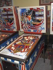 1976 Pioneer Pinball Machine