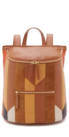 b6f2b09d2835 Derek Lam 10 Crosby Patchwork Mercer Backpack