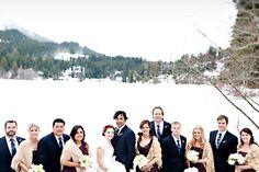 Winter Wedding at The Four Seasons Whistler, Photo by Anastasia Photography via junebugweddings.com