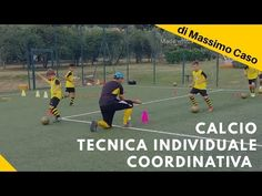Allenamento Calcio Tecnica Individuale Coordinativa - YouTube Soccer Drills, Soccer Training, Youtube, Sport, Kara, Soccer, Workouts, Soccer Pictures, Warming Up