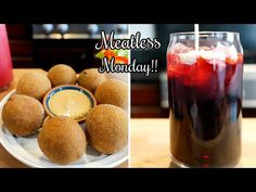Fried Maseca Balls filled with Beans | Taste test & Blooppers begin @ 16:37 - YouTube Venezuelan Food, Venezuelan Recipes, Homemade Chorizo, Appetizer Recipes, Appetizers, Meatless Monday, Recipe Today, Fritters, Mexican Food Recipes