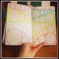 Fill This Page WIth Circles | Wreck This Journal
