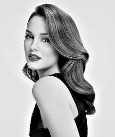 Old Hollywood Glamour.... Flawless - Leighton Meester. Adore her!