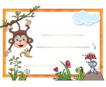 pochvalný list ke stažení - Hledat Googlem School Frame, Page Borders, Clip Art, Scrapbook, Shapes, Education, Washi, Kids, Stickers